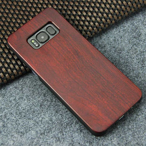 Real Wood Phone Case - iPhone X 7 8 Plus / Samsung S8 S8 Plus - Scotch and Rocks