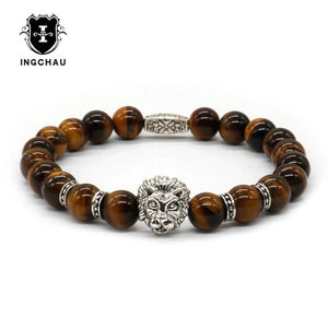 Lava Stone Iron Bracelet - Scotch and Rocks