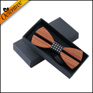 Creative Handmade Butterfly Wooden Bow Tie - Scotch and Rocks