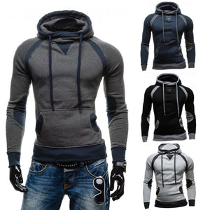 Men Slim stylish Hoodie Pullover - Sweatshirt Outwear - Scotch and Rocks