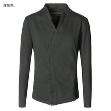 2018 Men washed European style short black casual suit jacket/blazer - Scotch and Rocks