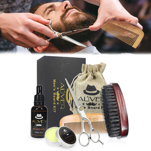 Beard Care Grooming Trimming Kit for Shaping Growth Beard Care - Scotch and Rocks