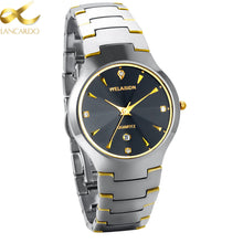 Gold Accent Men's Luxury Watch - Scotch and Rocks