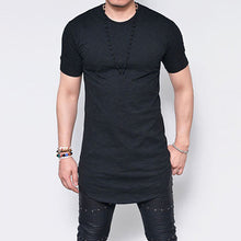 Streetwear Cotton Casual T-Shirts Short Sleeve Men O Neck Up to Size 5X - Scotch and Rocks