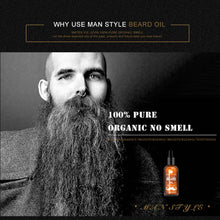 30ml Men Beard Oil for Styling Smoothing - Growth Care Conditioner Softener - Scotch and Rocks