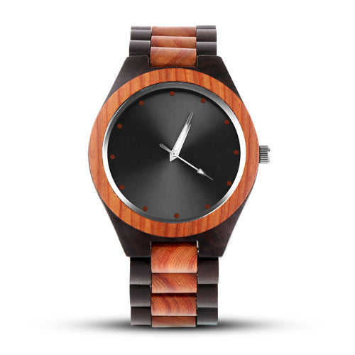 Luxury / Unique Wood Watches Men's Watch - Scotch and Rocks