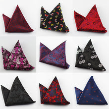 Paisley Silk Handkerchiefs Woven Animal Pattern Hanky Men's Business Casual Squa - Scotch and Rocks