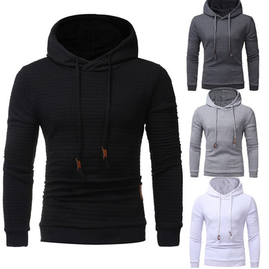 Men's Long Sleeve Hoodie Hooded Sweatshirt Tops Jacket Coat Outwear - Scotch and Rocks
