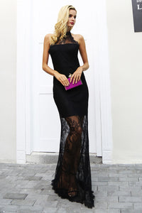 Dress-Maxi-Long-Lace-Gown-cock-tail-mermaid-halter-neck
