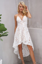 Dress-lace-long-skirt-v-neckline-summer-spring-straps