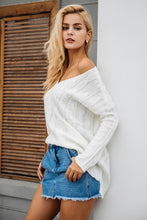 Monty & Coco-Sweater-Dress-long Sleeve-Knitted-v neckline-backless-oversize-jumper