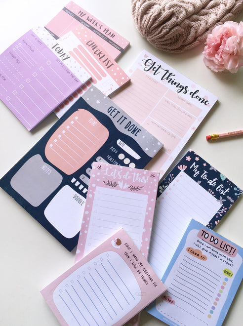 Planners and Notepads