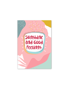 Sunshine Notebook | A5 Size | Pink