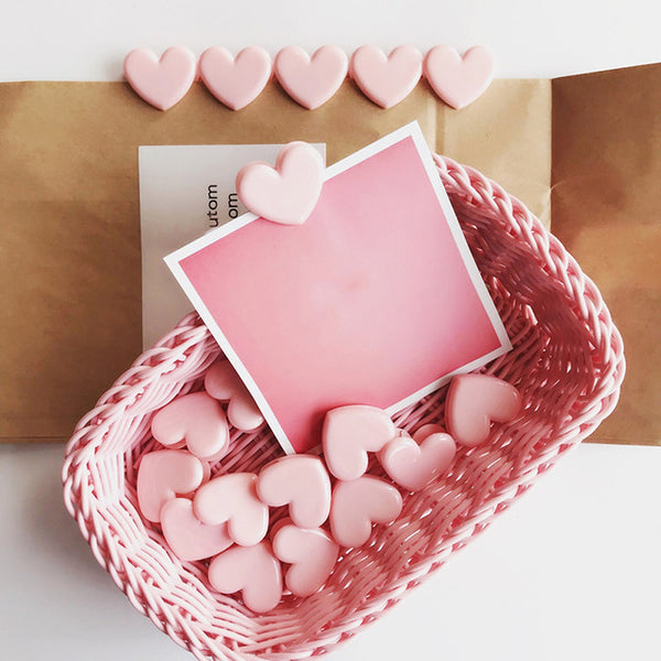 Pretty Heart Multi functional Paper clips | Set of 4 or 8
