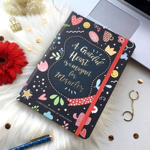 """My Happy Place"" Gratitude and Self care Journal with box 