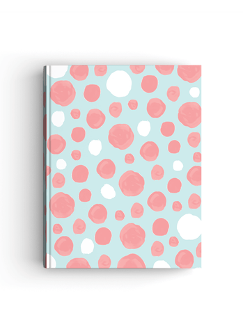 Candy Snow Hardbound | A4 size Notebook