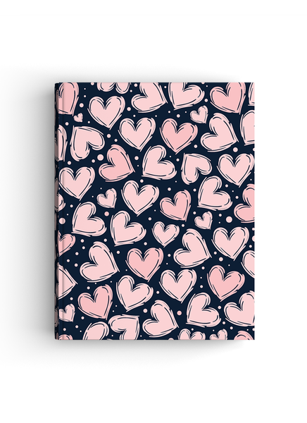Heart Crush Hardbound | A4 size Notebook