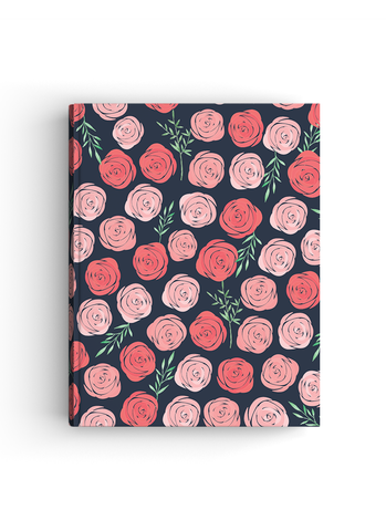 Rosie Bloom Hardbound | A4 size Notebook