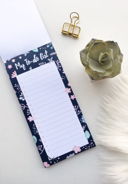 Imperial Floret 'To Do List' Pad