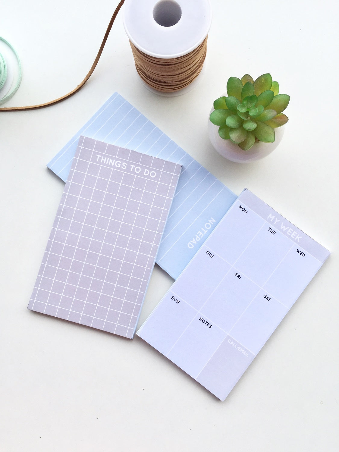 To do, Notepad & My Week Pads | Set of 3
