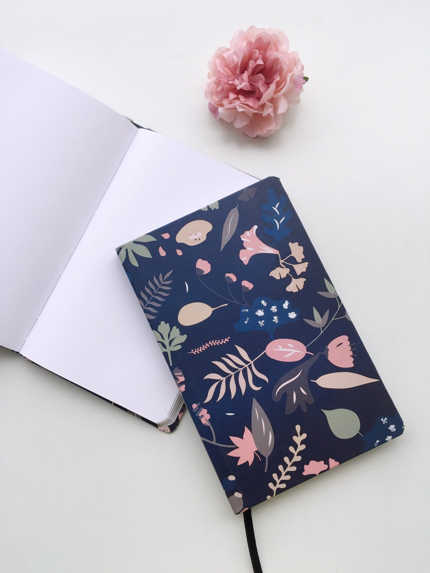 Dense Woods Multi-Purpose Journal Notebook | Hardcover | Plain