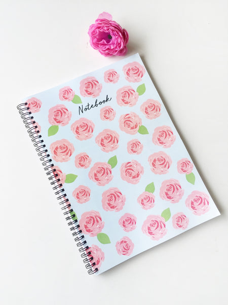 Cher Rosette Notebook