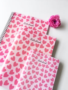 Heart Amour Notebook