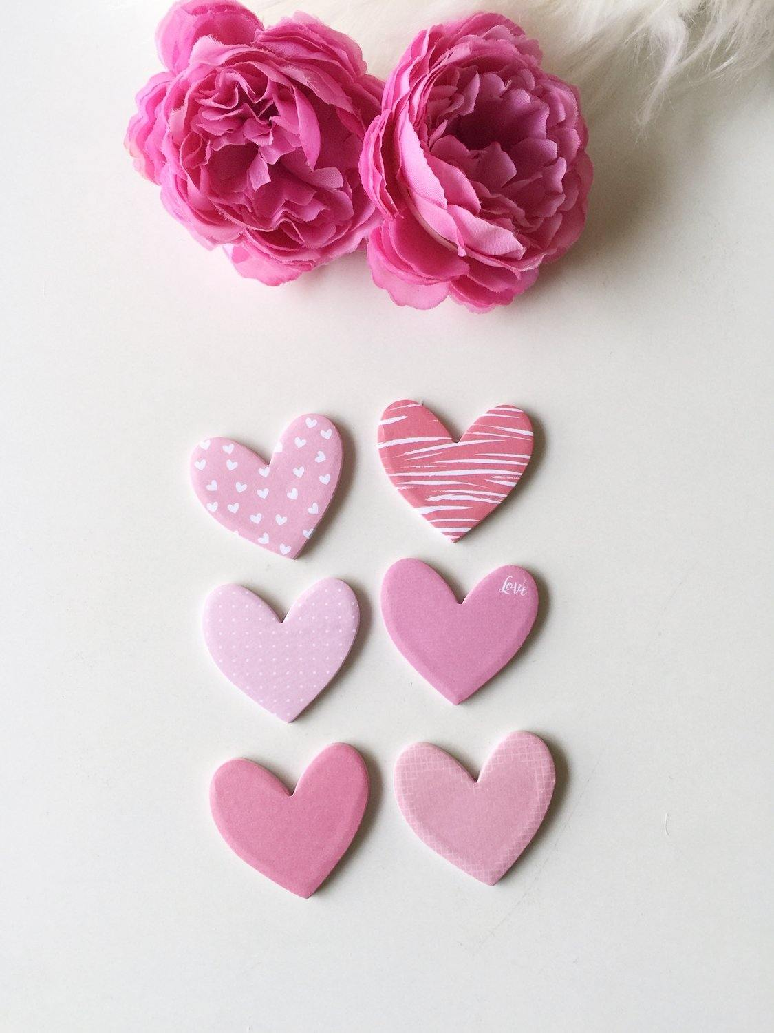 Adorable Hearts Sticky Notes | Self Adhesive | 2"