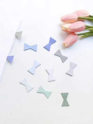 Bow Knot Sticky Notes/ Page Markers