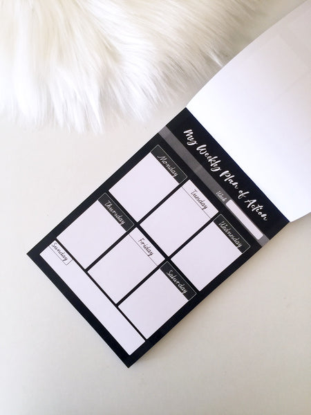 Plan it Right- Daily/ Weekly/Monthly Planners | A5 Size | 50 sheets each