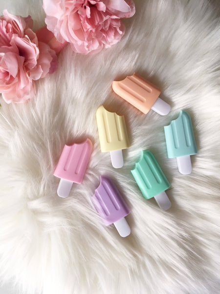 Mini Pastel Popsicle Highlighters | Set of 6