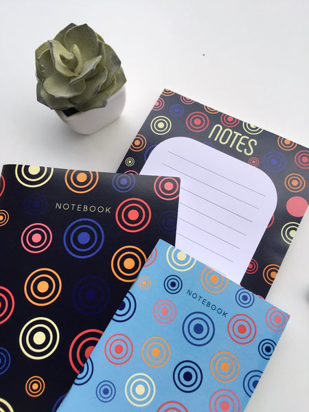 Wheel of Purpose Trio | Set of A5 Notebook, Notepad and A6 Notebook