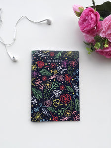 Flora Obsession Notebook | A5 Size