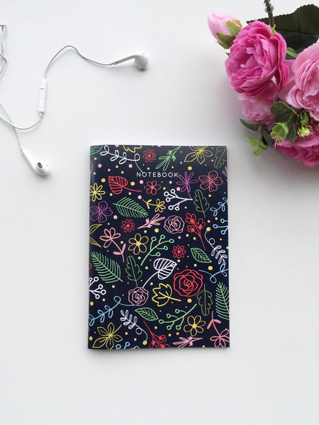 Flora Obsession Trio | Set of A5 Notebook, Notepad and A6 Notebook