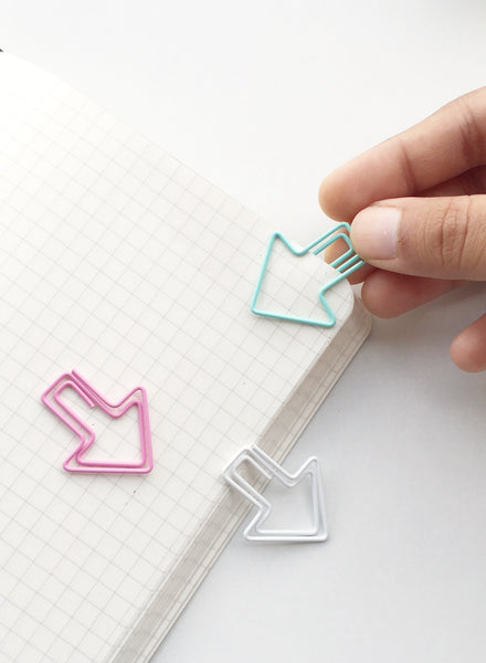 Eye Candy Arrow Paper Clips | Set of 6 or 12