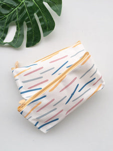 Abstract Track Pencil Pouch