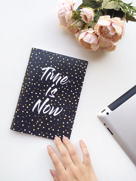 Time is Now Notebook