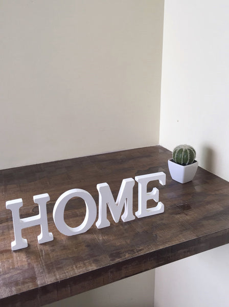 Wooden Letter Home Decor | LOVE / HOME