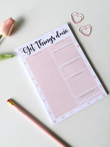 Get Things Done Day Planner | A5 Size