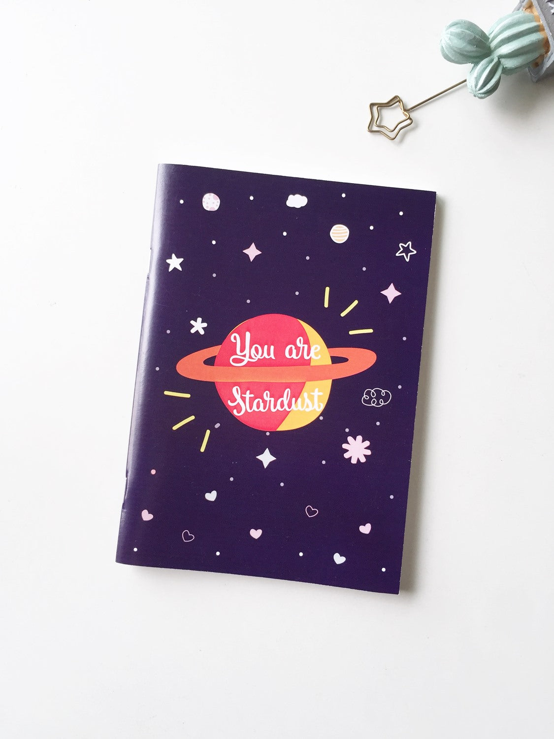You are Stardust Notebook