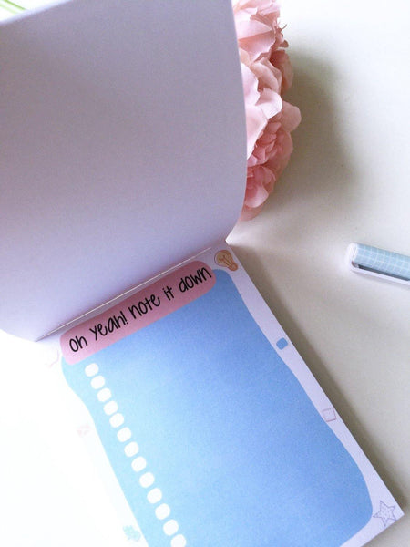 Bonny Blue To do List / Notepad | 50 sheets each