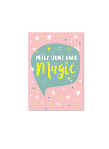 Make your own Magic | A5 Notebook | Plain
