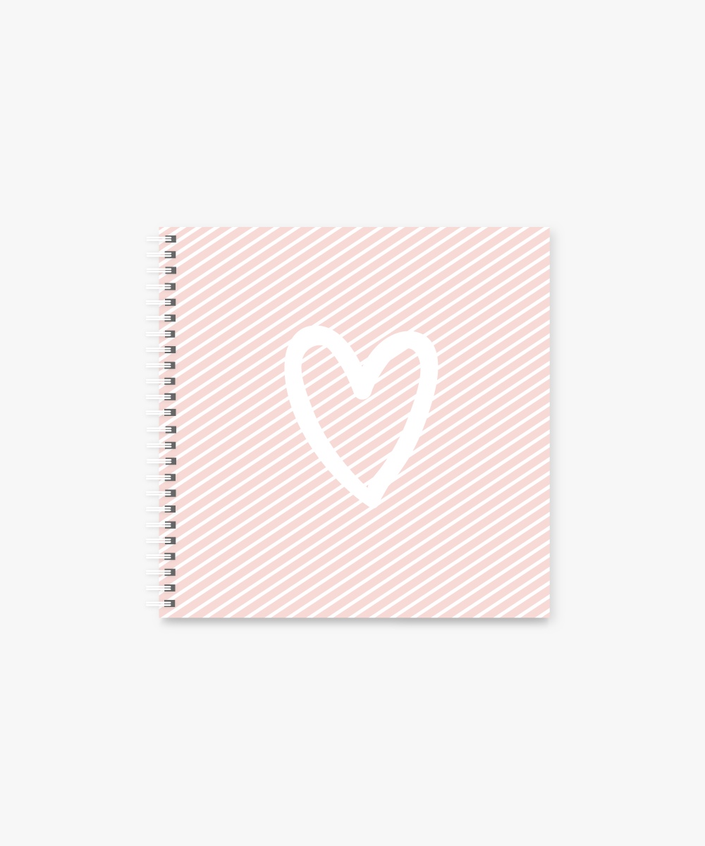 Is this Love square Spiral Notebook | 8 x 8 ""