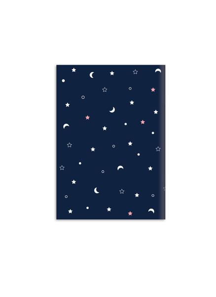 Don't Quit your Daydream Notebook | A5 Size | Blue