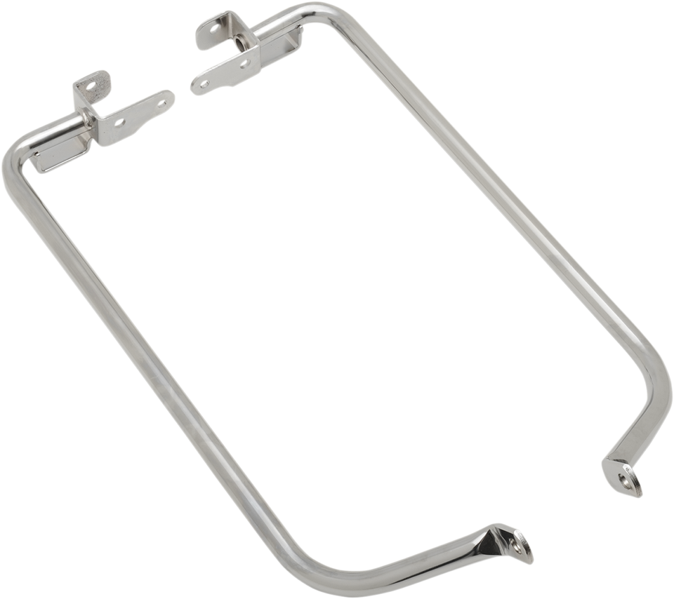 Saddlebag Support Brackets - Chrome - 14-19FLT - Lutzka's Garage