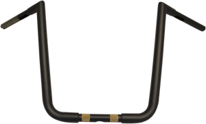 "Flat Black 16"" Big Twin Peaks Handlebar"