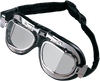 Red Baron Goggles - Stainless Steel - Lutzka's Garage