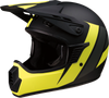 Child Rise Helmet - Evac - Matte Black/Hi-Vis/Gray - S/M