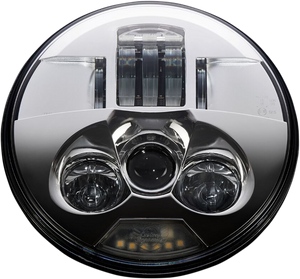 "ProBEAM LED Headlamp 7"" - Chrome"