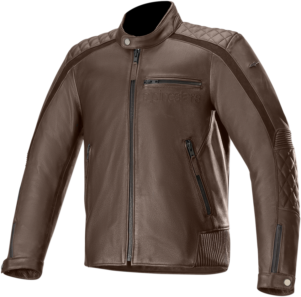 Hoxton v2 Jacket - Brown -  52